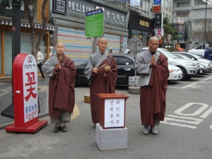 Monks offer non-tangible fulfillment